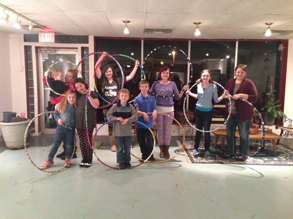 Hoop-Making party!