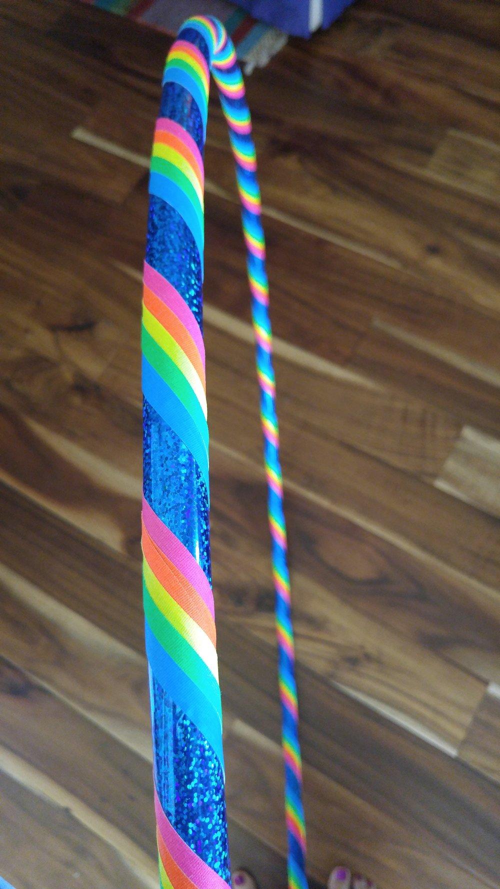 Blue Rainbow Kids' Hoop