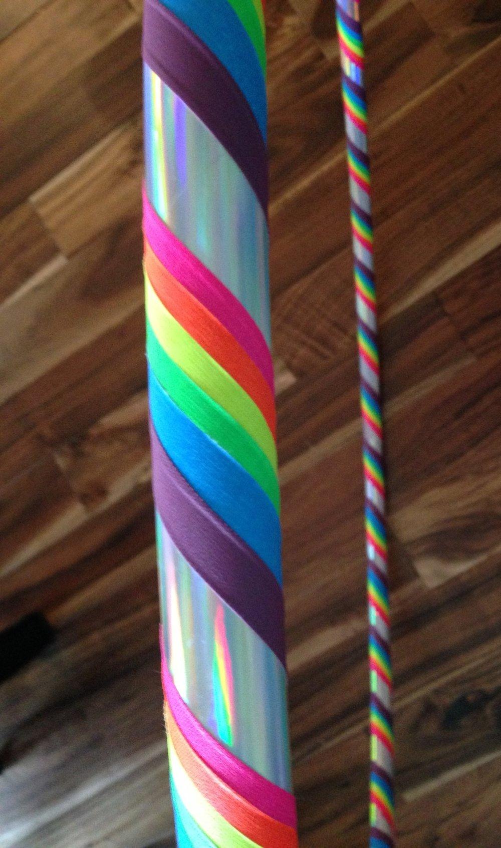 Silver Rainbow Kids' Hoop