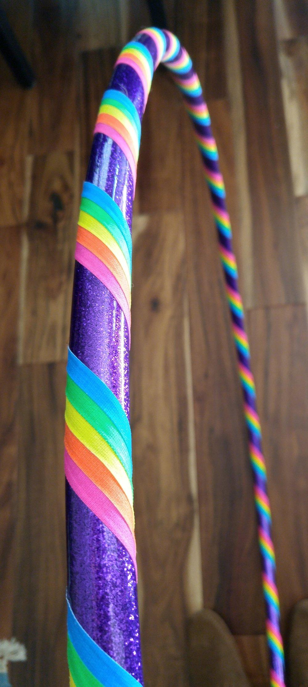 Purple Rainbow Kids' Hoop