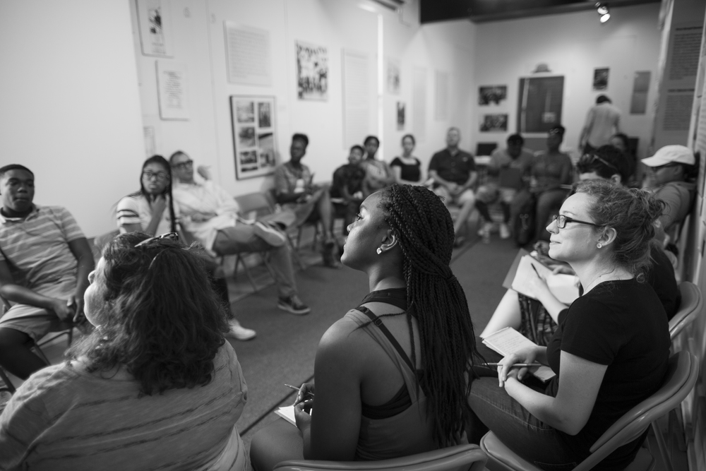 Deep brings together youth, families, historians, artists, urban planners, and community leaders.