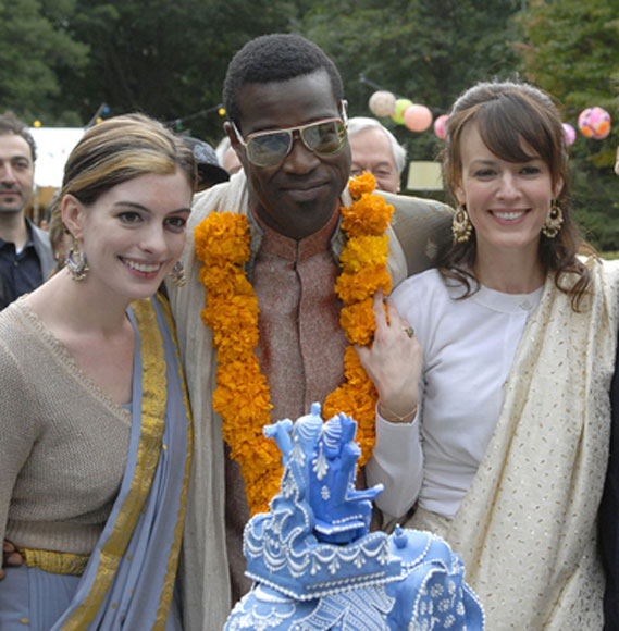 "Ok, but why did Rachel's wedding have an ""Indian"" theme again?"