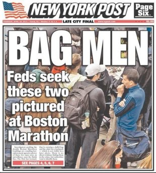 Yassine Zaime and Salah Barhoun are both innocent, but worried that this New York Post cover could affect the rest of their lives