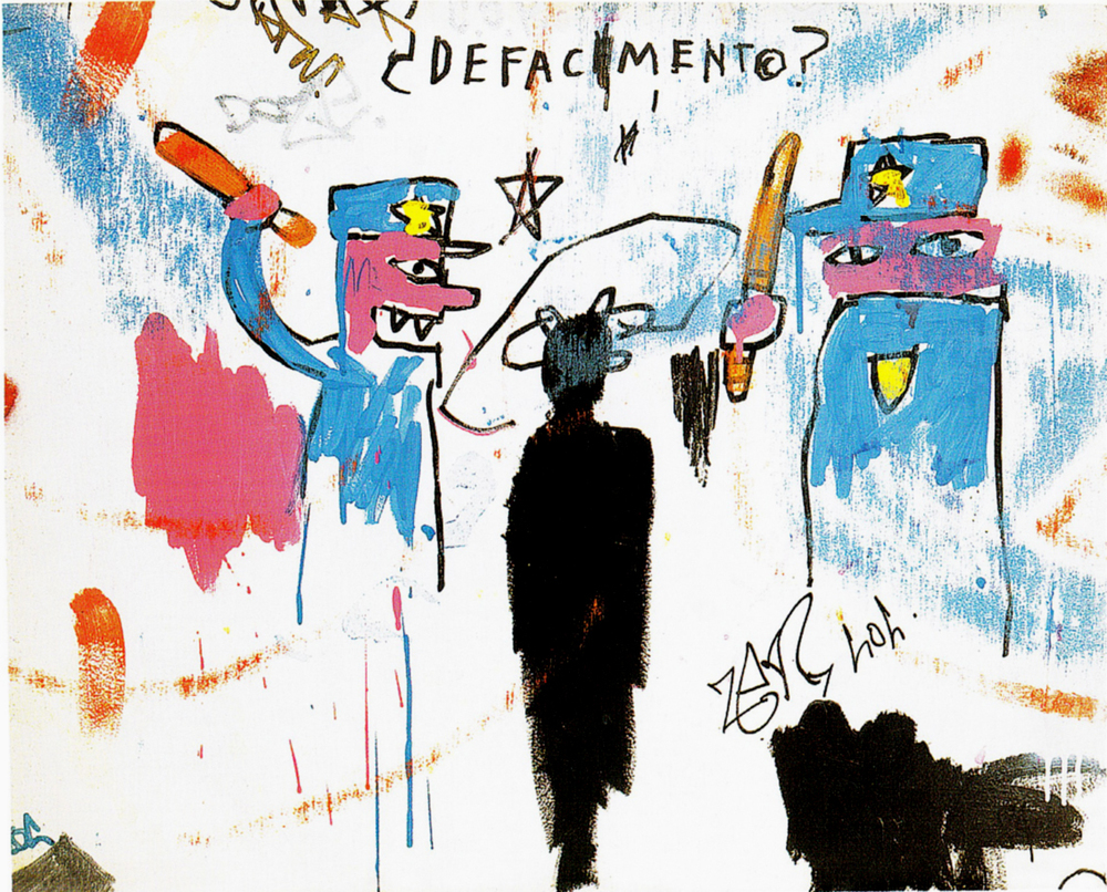 Basquiat: The death of Michael Stewart