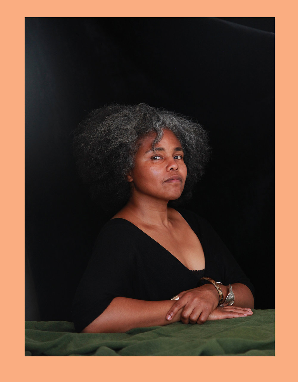 Sandra Brewster, Interdisciplinary Artist  Photograph by Liz Ikiriko