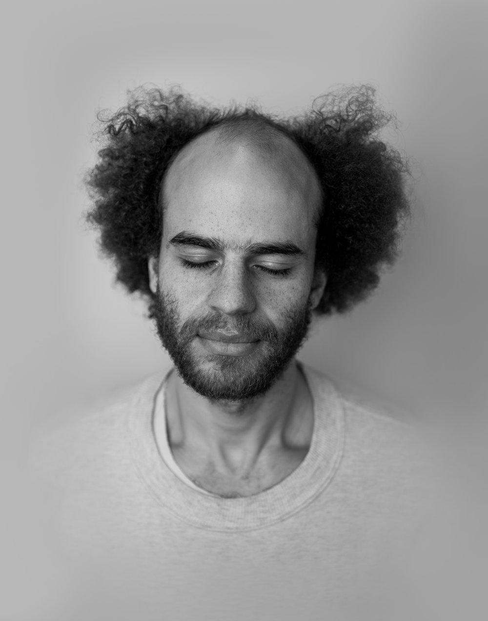 Desmond Miller, Artist, Researcher Photograph by Ebti Nabag