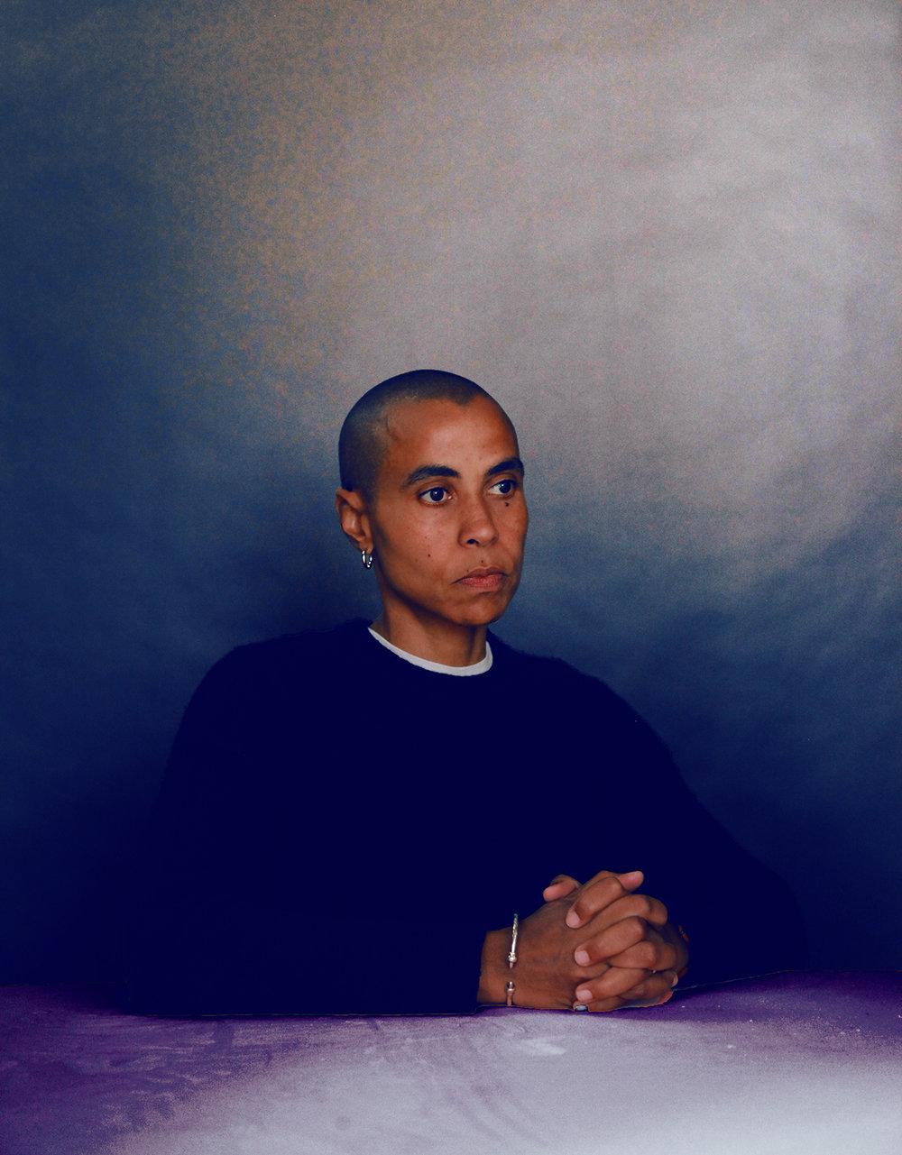 Michéle Pearson Clarke, Interdisciplinary Artist Photograph by Liz Ikiriko