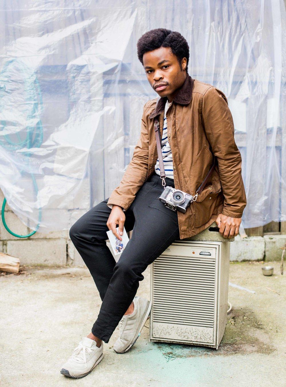William Ukoh, Artist  Photograph by Yannick Anton