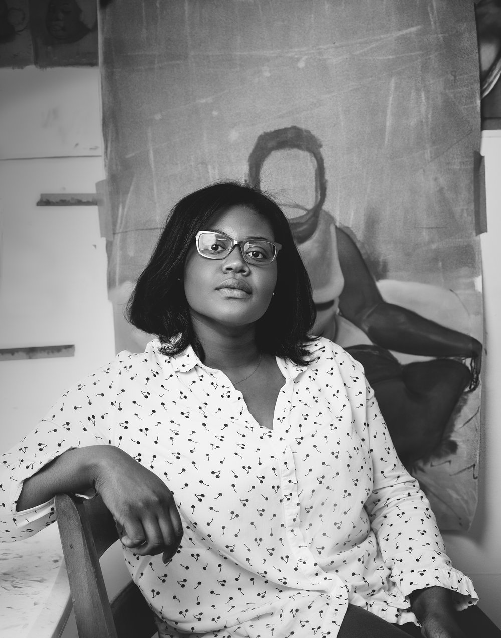 Shantel Miller, Artist Photograph by Ebti Nabag