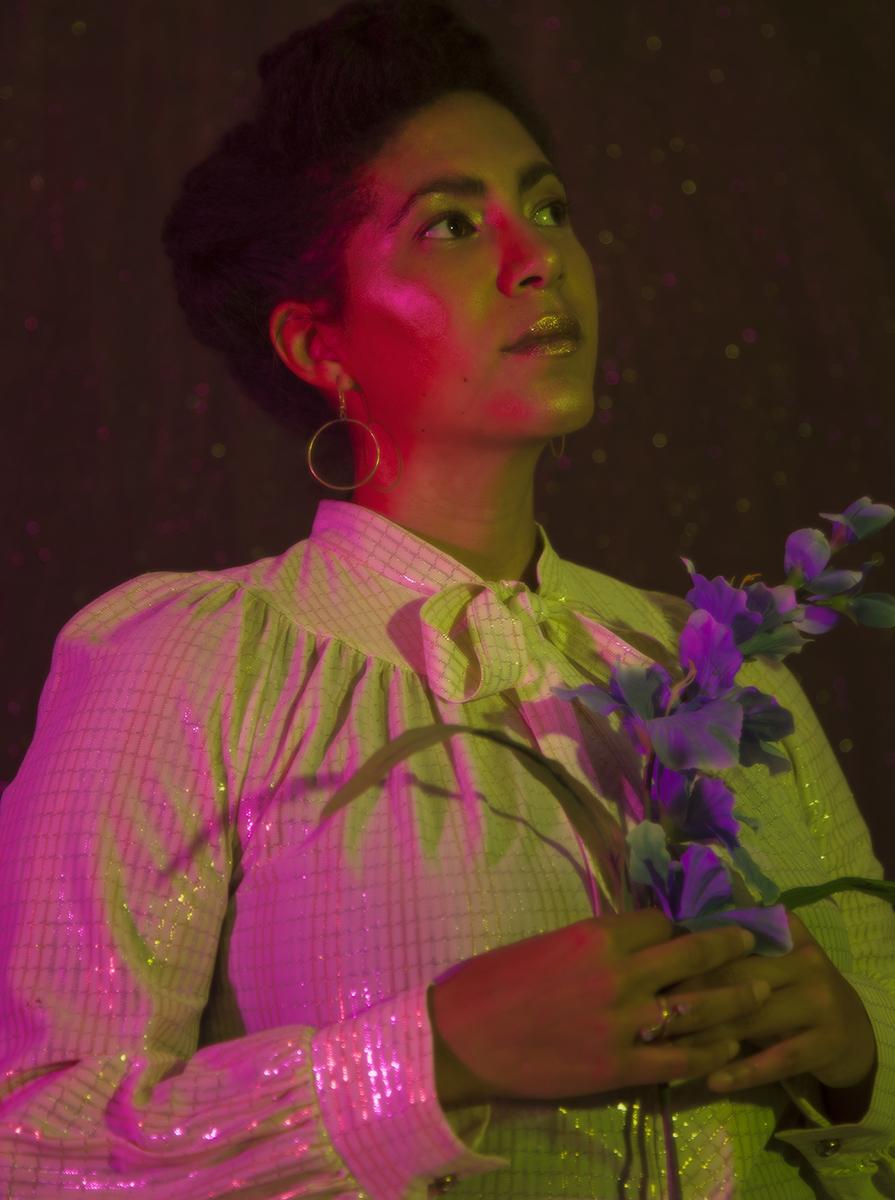 Ella Cooper, Interdisciplinary Artist & Documentary Filmmaker  Photograph by Dainesha Nugent-Palache