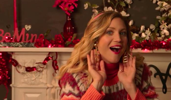 VALENTINE'S DAY SINGING TELEGRAM - Featuring Brittany Snow