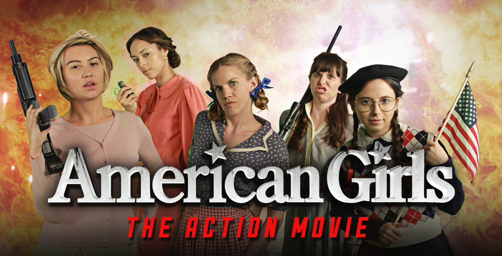 AMERICAN GIRL DOLLS: THE ACTION MOVIE - Featuring Anna Chlumsky, Chelsea Kane, Amber Stevens, Esther Povitsky &Allyn Rachel