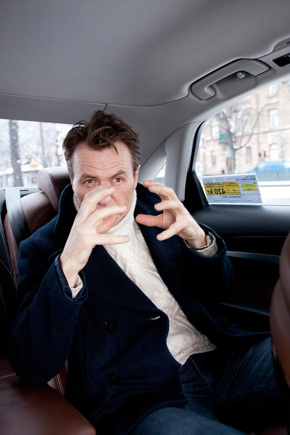 Fredrik Skavlan, Norwegian tv host (Monocle)