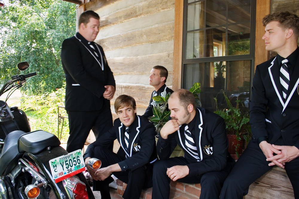 "The Hives recording ""The Black and White album"", Oxford, Mississippi."