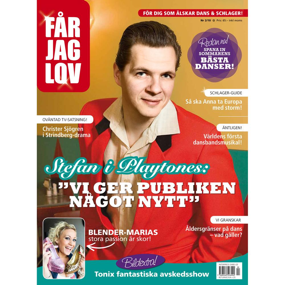 Boppin' Steve/The Playtones + Maria Persson/Blender (Får Jag Lov magazine)