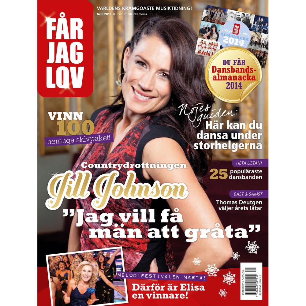 Jill Johnson + Elisa Lindström/Elisa's (Får Jag Lov magazine)