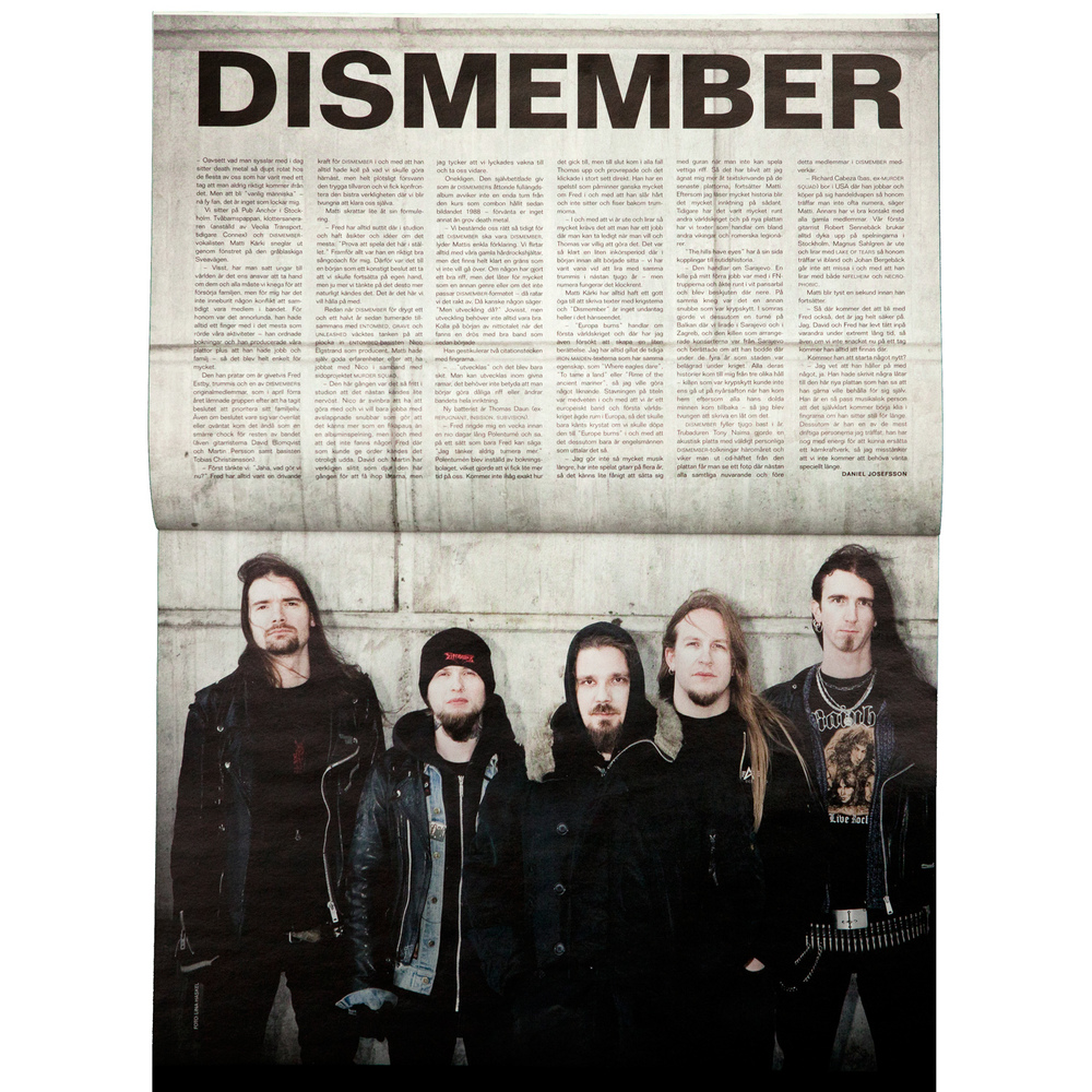 Dismember (Close-up magazine)