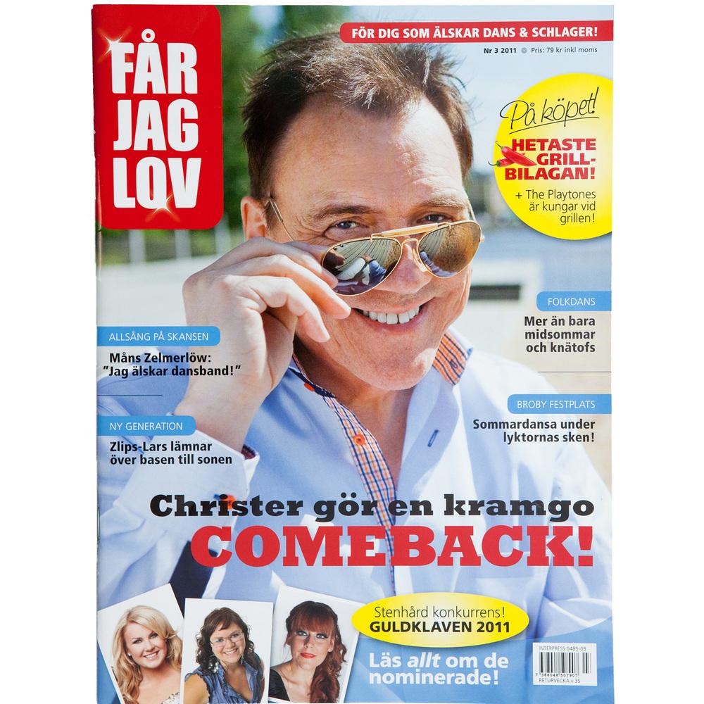 Christer Sjögren (Får Jag Lov magazine)