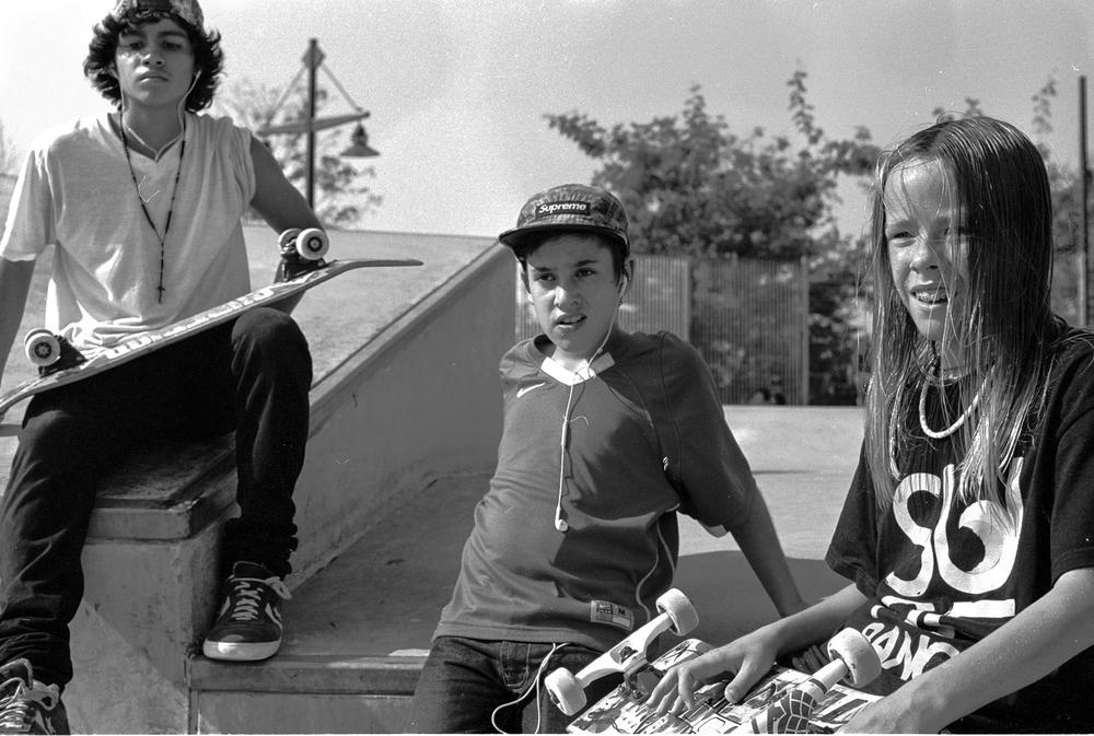 Jose, Victor, and Chris, circa 2013