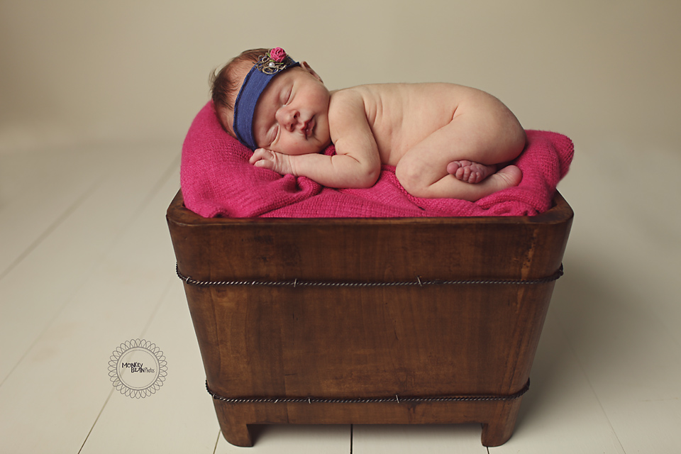 I haven't met a baby girl yet that doesn't look the best on purple.  Babies and purple....magical! :)