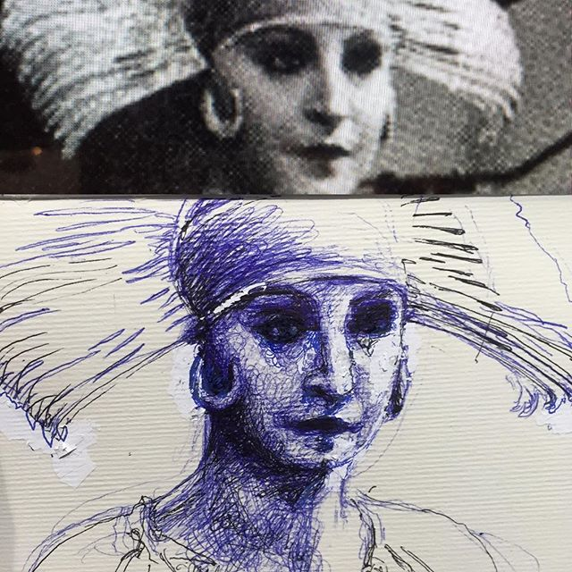 Source material vs pen and white out ;) #drawingnatwork