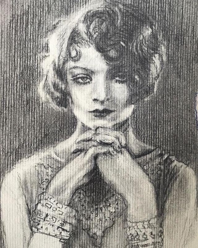 • 20's girl in graphite •
