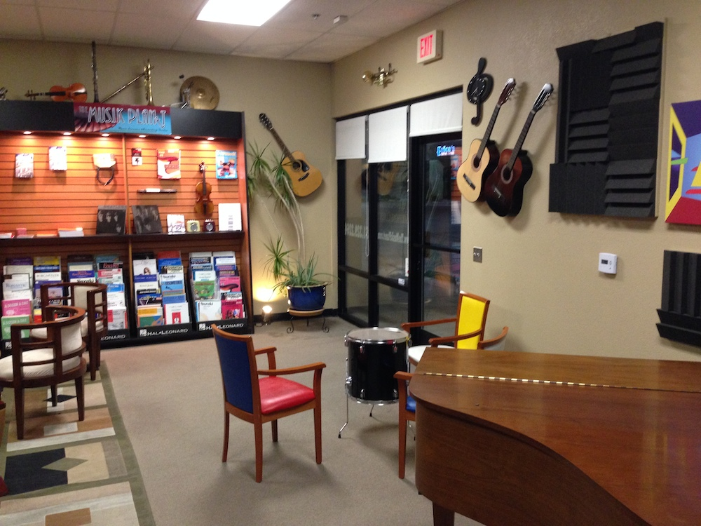 The Musik Planet Lobby