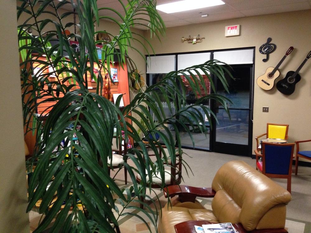 The Musik Planet Lobby Tree