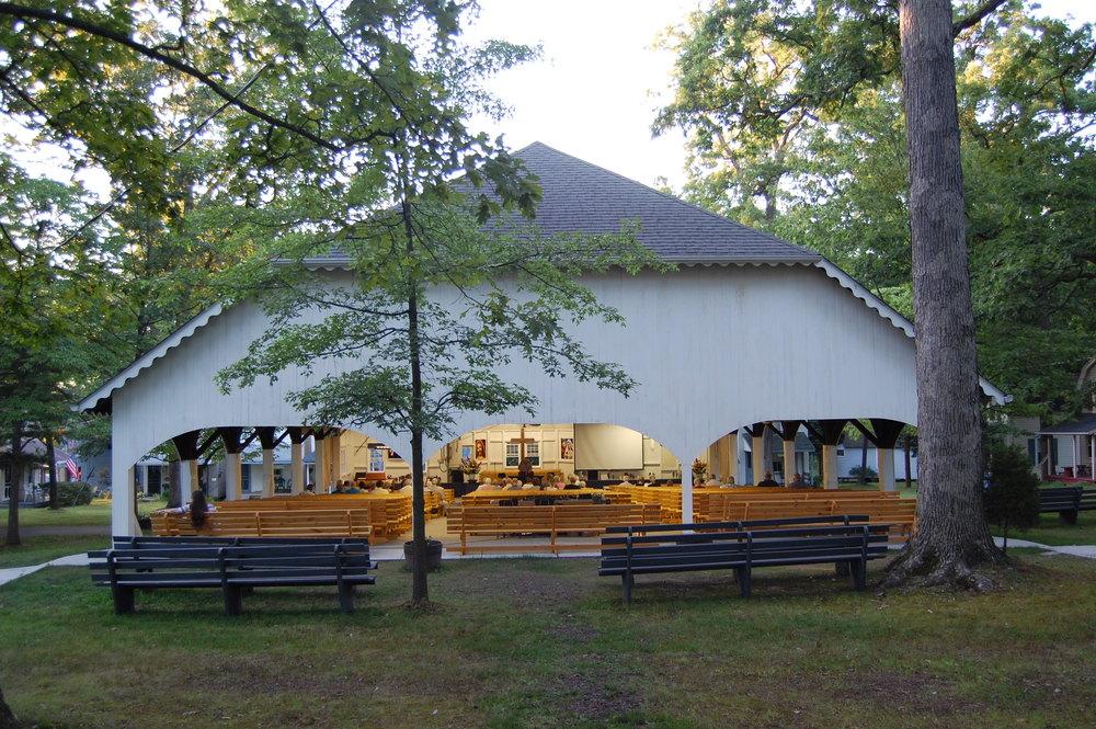 Tabernacle (Exterior Rear)