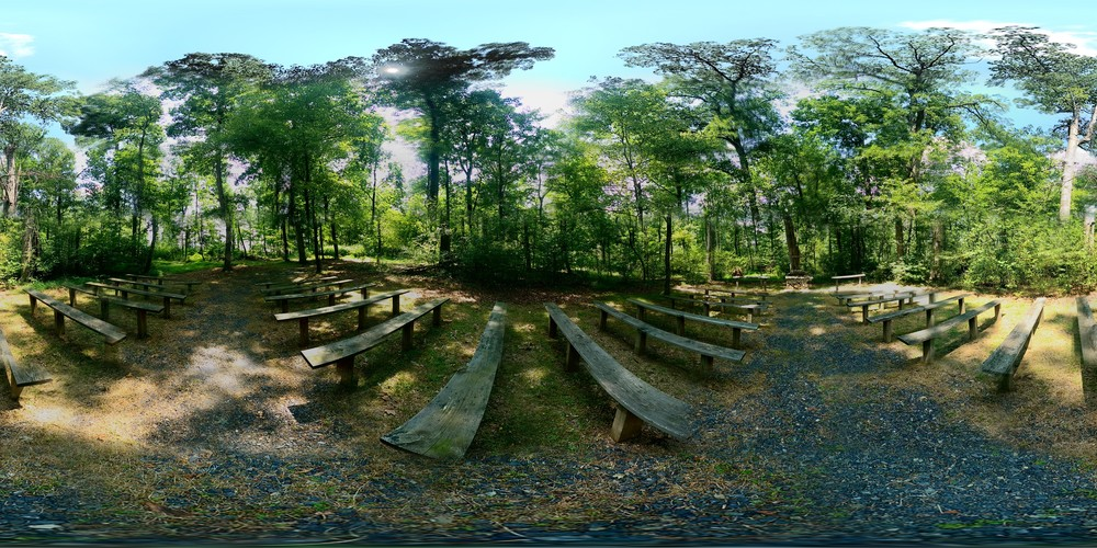 Click here for a 360-panoramic view of our famous Chapel in the Woods.