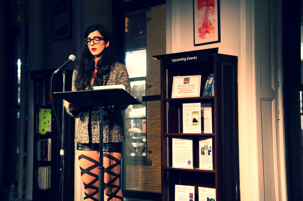 porochista reading from [wherever] at housing works in 2013