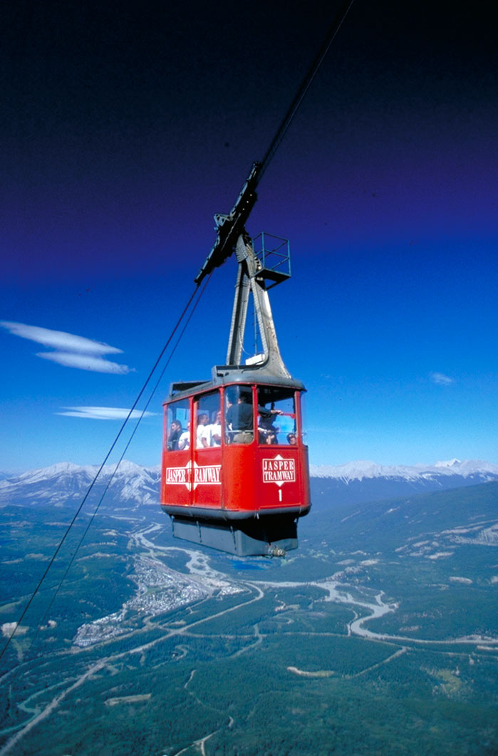 The Jasper Tramway...