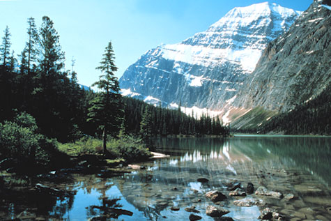 Mount Edith Cavell...