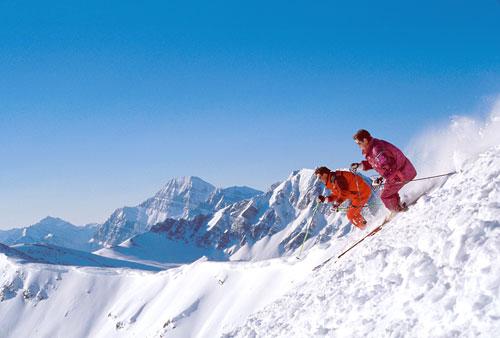 Skiing, Marmot Basin...