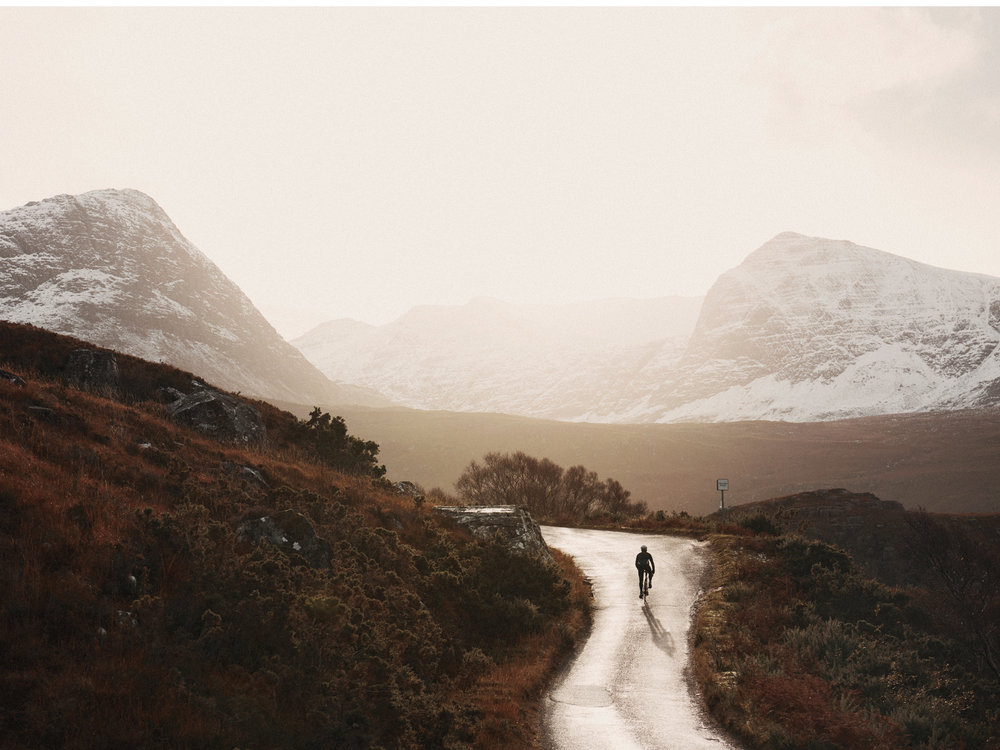 Scottish Cycling Landscape -