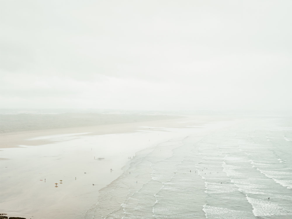 A personal project looking at the landscape of the best surfing spots in Britain.