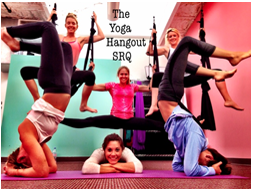 Aerial Yoga Soars Into Sarasota At Studio South...