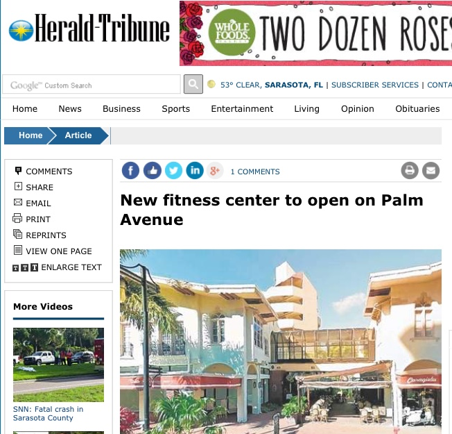 Studio South Fitness in the News!