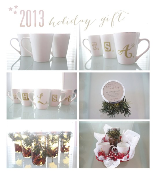Neighbor Christmas Gift: Hot Toddy Basket - Emily Roeder Design