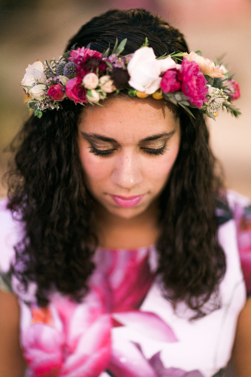 Sparkles and vintage flower crowns were a must i wanted my guests to feel welcomed the crown collective totally nailed these crowns izmirmasajfo