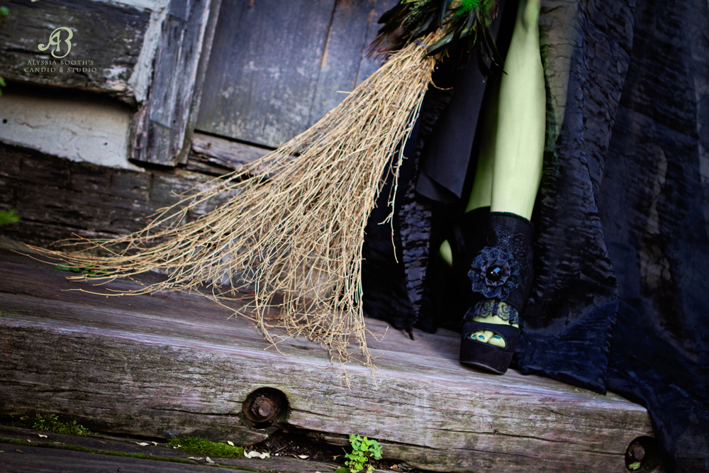 Wicked Witch Sneak Broom