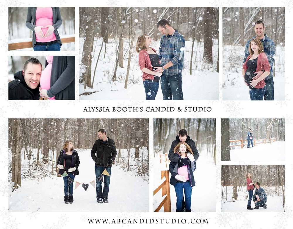 Maternity photography Alyssia Booth's Candid & Studio