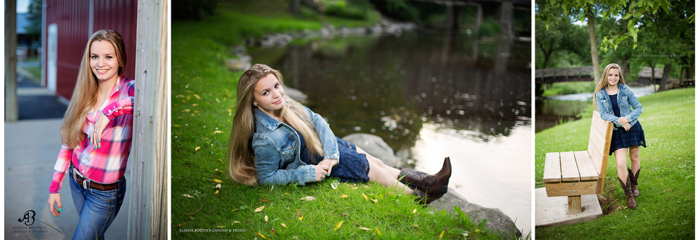 Treasa Senior Portraits | Alyssia Booth's Candid & Studio | Wisconsin