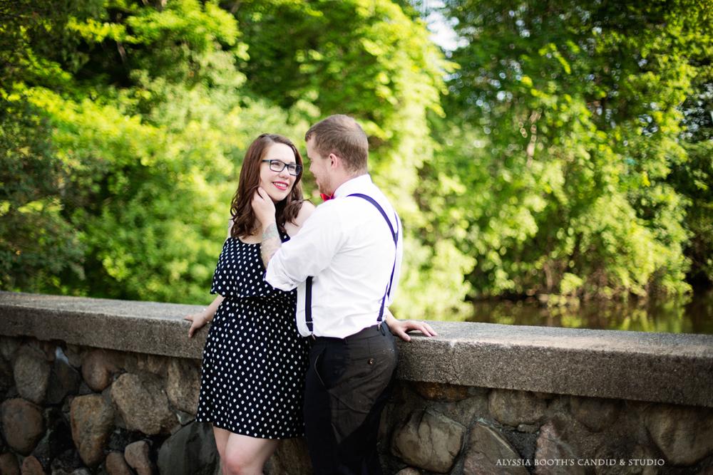 Marisa + Garrett's Engagement Photo Shoot | Kalamazoo | Alyssia Booth's Candid & Studio