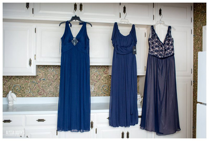 Bridesmaids Dresses | Wedding at the English Inn | Alyssia Booth's Candid & Studio