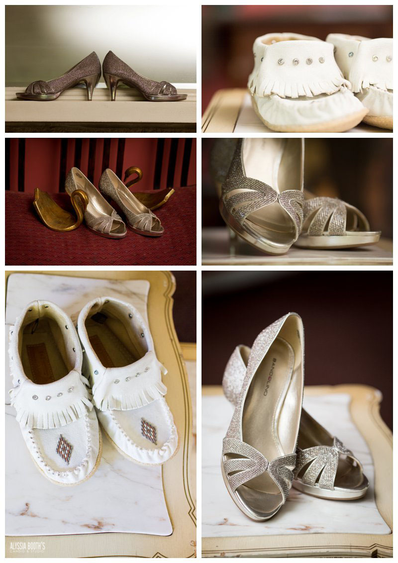 Shoes  | Wedding at the English Inn | Alyssia Booth's Candid & Studio