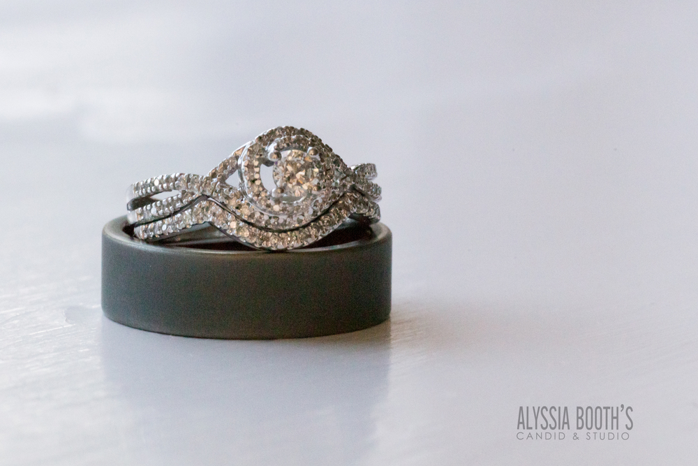 Rings | Alyssia Booth's Candid & Studio | Wedding