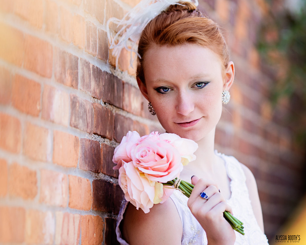 Red head bride | Summer Weddings | Styled Shoot | Alyssia Booth's Candid & Studio | Mi Photographer