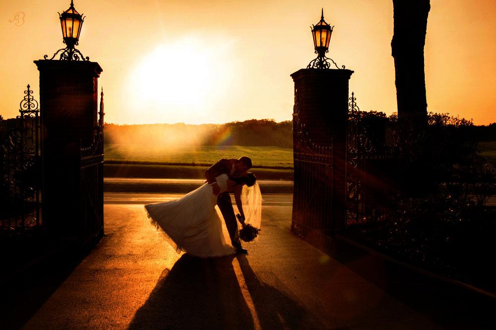 Wedding Sunset | Alyssia Booth's Candid & Studio | Michigan Wedding