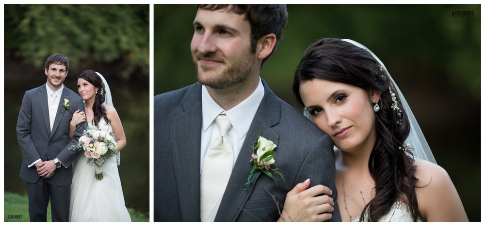 Bride & Groom | Michigan Wedding Photography | Alyssia Booth's Candid & Studio